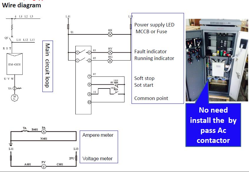 gs3i soft starter panel motor starter specification